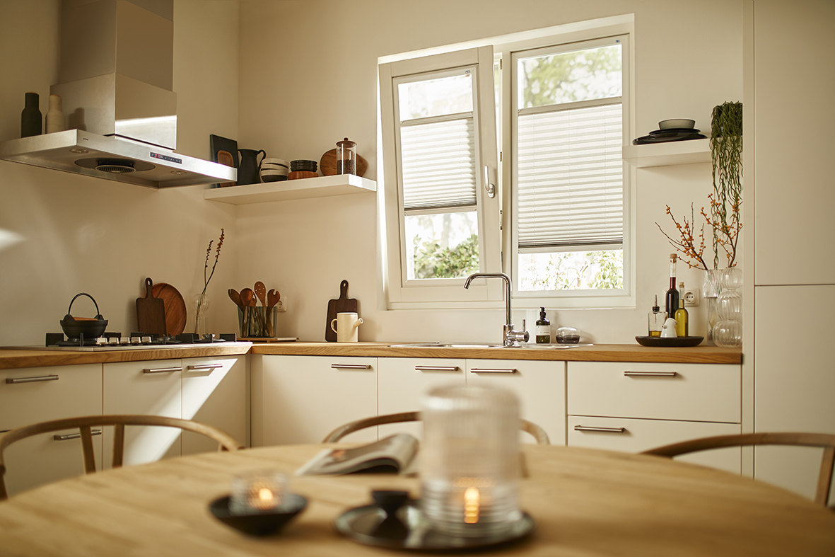 Splendid Pliss Keuken